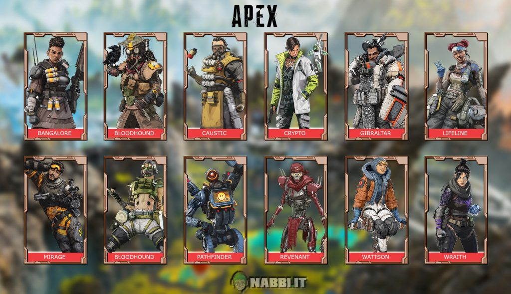Apex legends guida personaggi