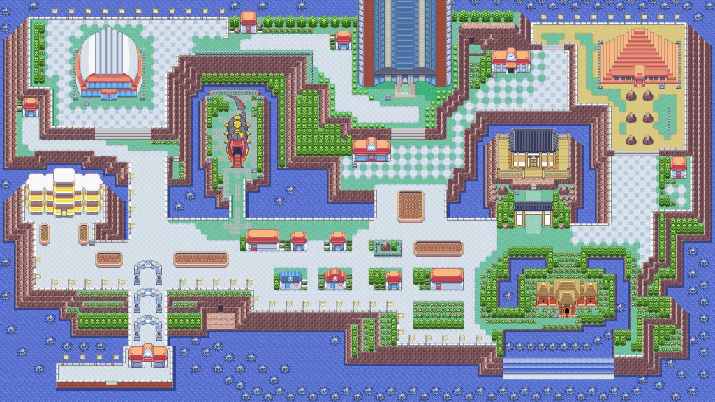 PokeTalk Pokemon Smeraldo Parco Lotta