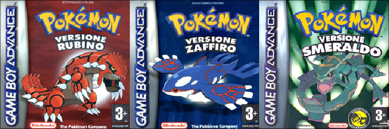 Pokemon Zaffiro Rubino Smeraldo Poketalk