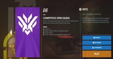 competitive open queue overwatch