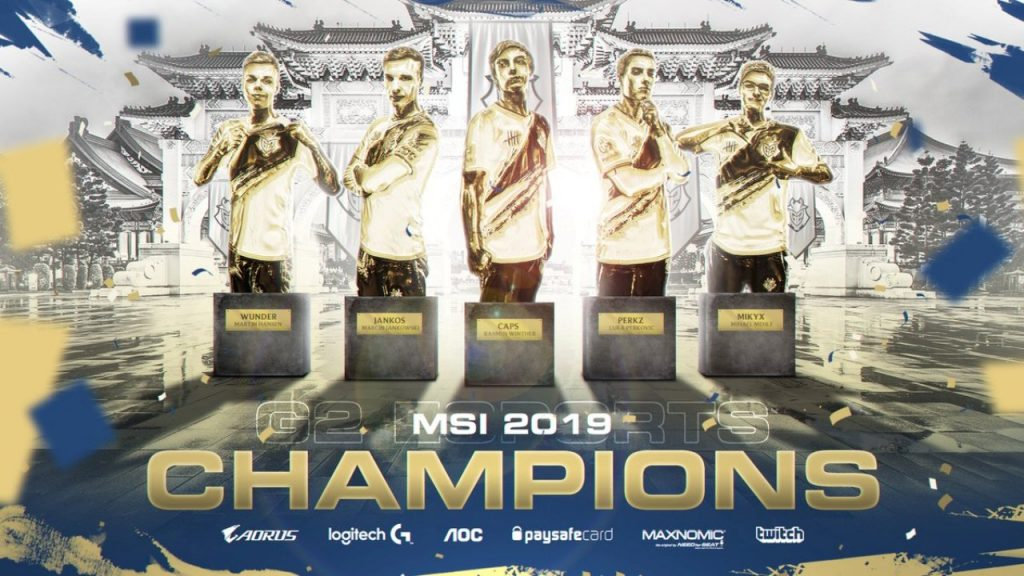 g2 msi champions lol