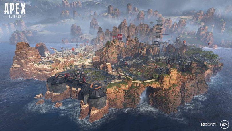 Apex Legends battle royale map