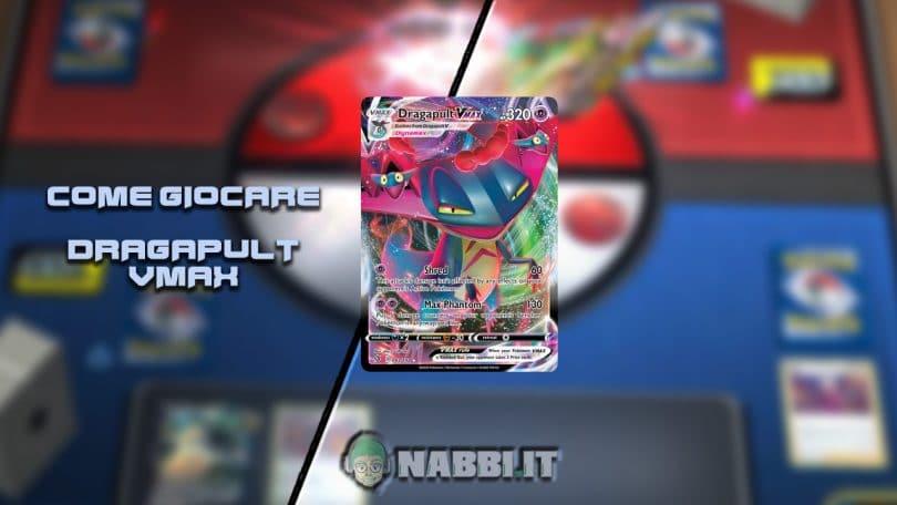 TCG Lab Dragapult VMax Pokemon guida