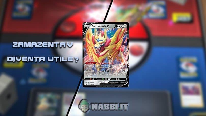 TCG Lab Pokemon Zamazenta V