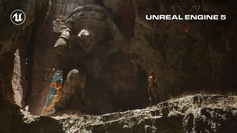 Unreal Engine 5 reveal