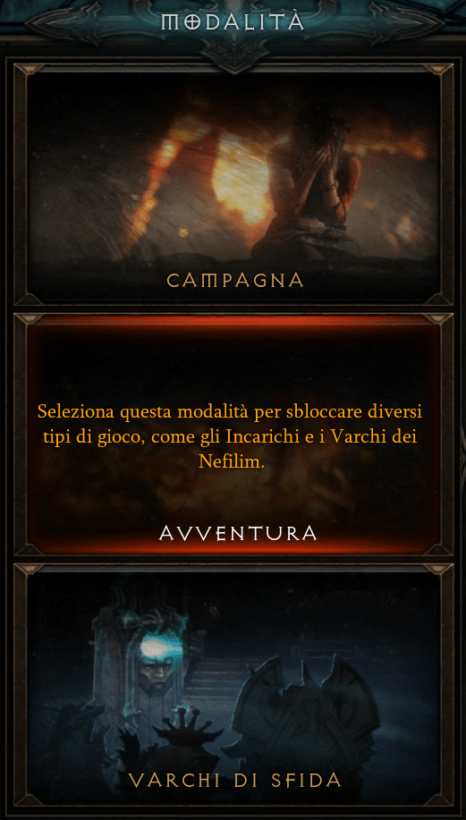 Diablo 3 Guida Nabbi modalità