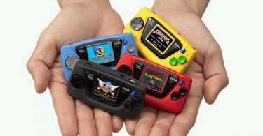 SEGA Game Gear Micro 4 colori