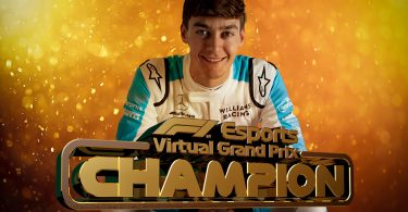 george russell f1 esports