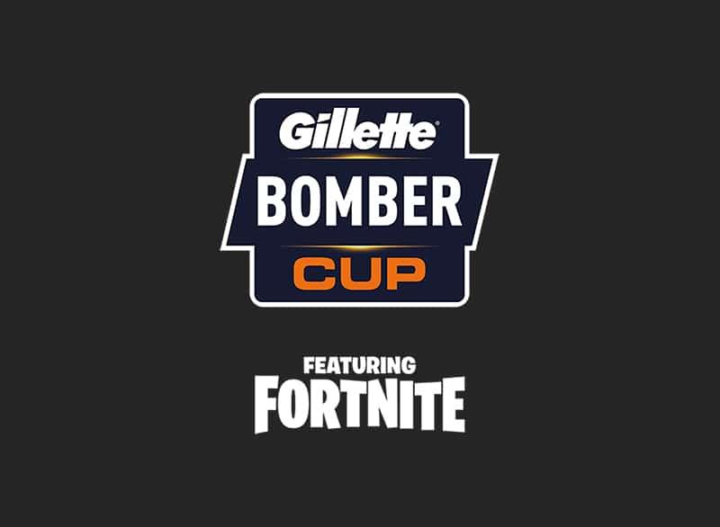 gillette bomber cup fortnite logo