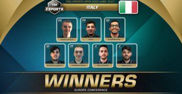 italia ebasket europe conference fiba vincitori