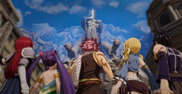 Fairy Tail gameplay video doppiatori anime