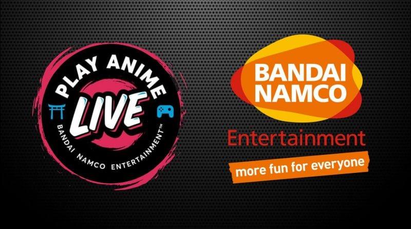 bandai namco evento digitale play anime live