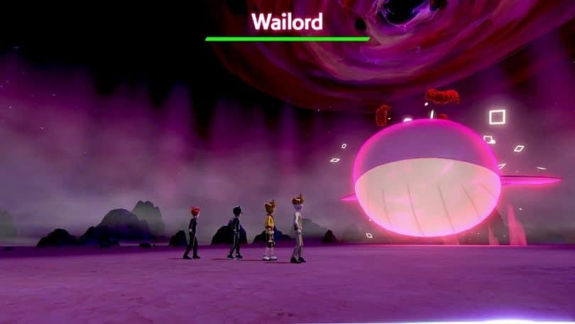 wailord pokemon raid