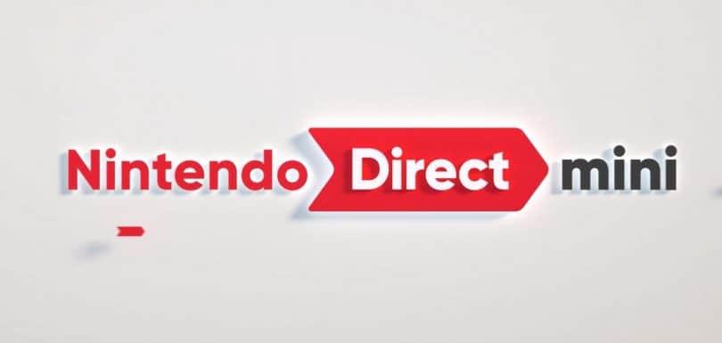 nintendo direct mini partner showcase titoli mostrati