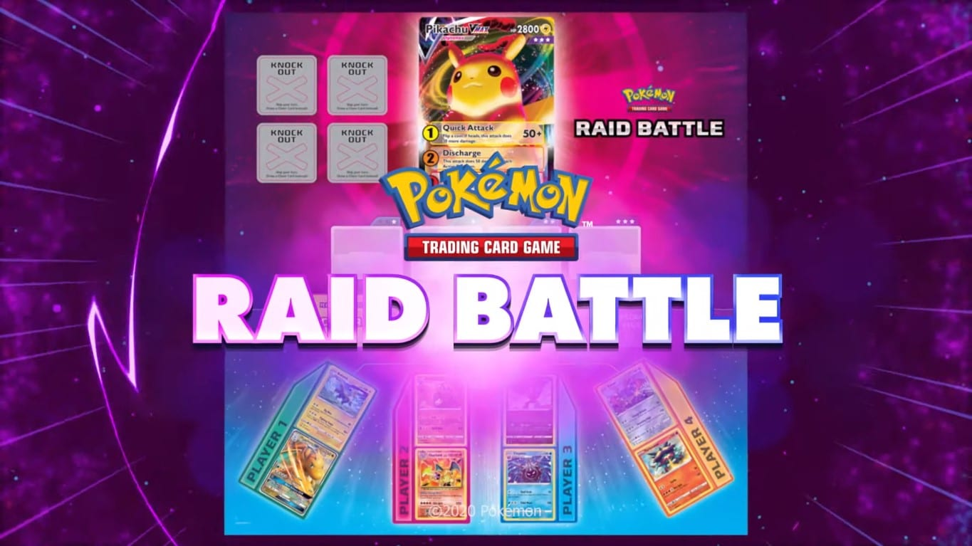 pokemon tcg raid battle