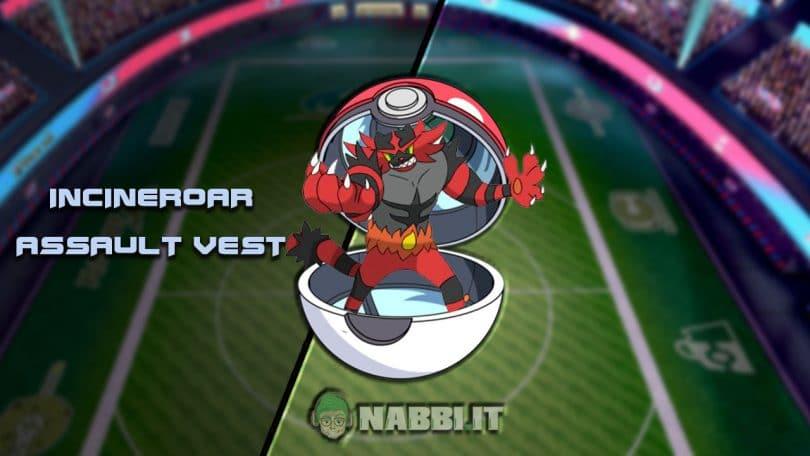 Incineroar AV VGC Pokemon via vittoria build guida