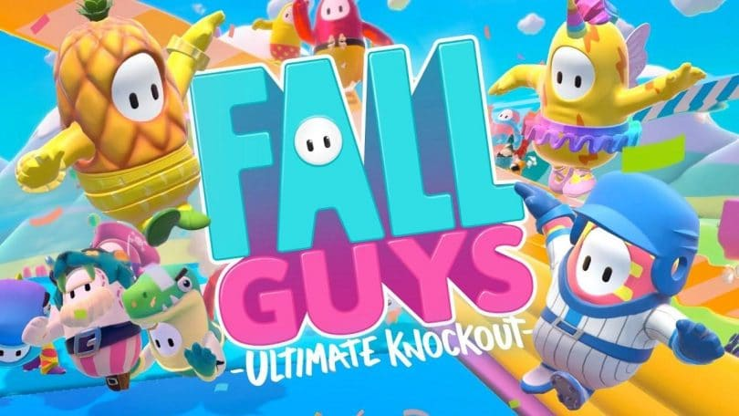 fall guys sfondo
