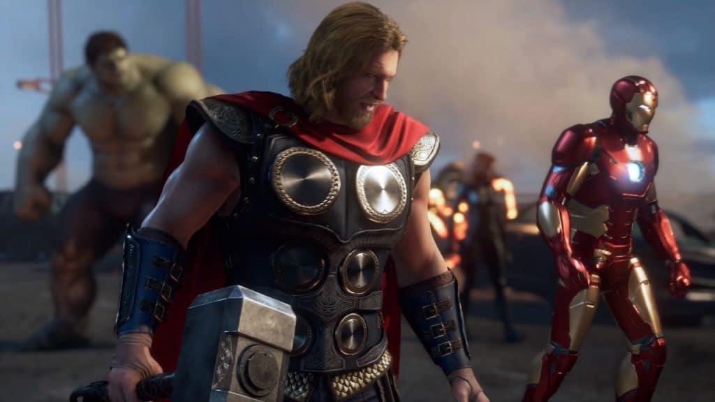 marvel's avengers thor