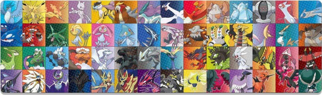 Pokemon Spada e Scudo leggendari