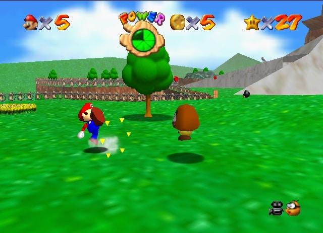 Super Mario 3D All Stars Mario 64