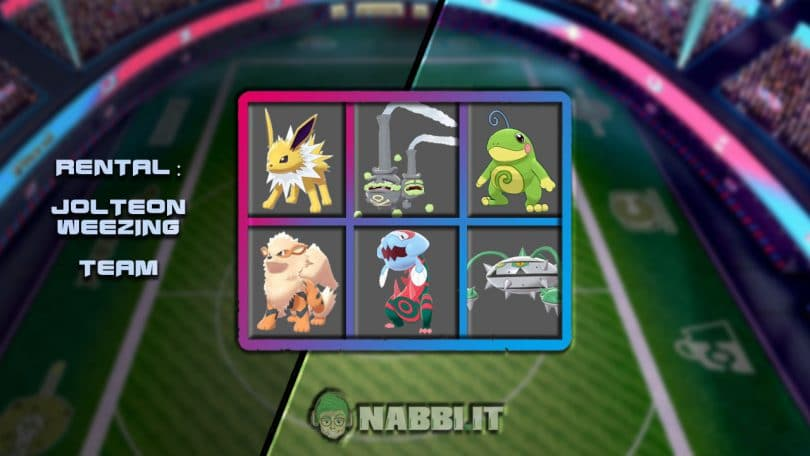 VGC a Nolo VGC 2020 Pokemon Jolteon Weezing