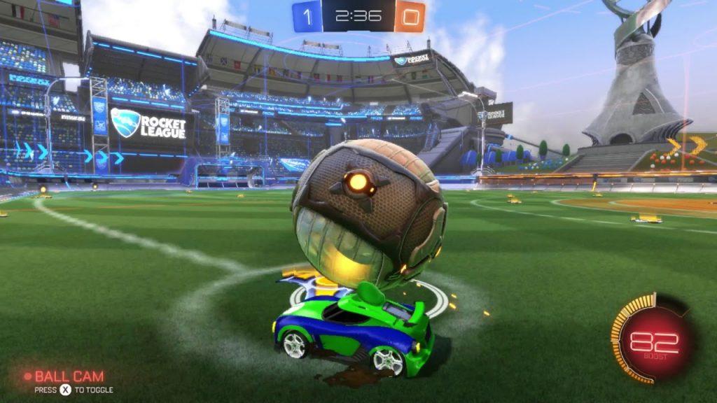 Rocket League gratis gameplay switch