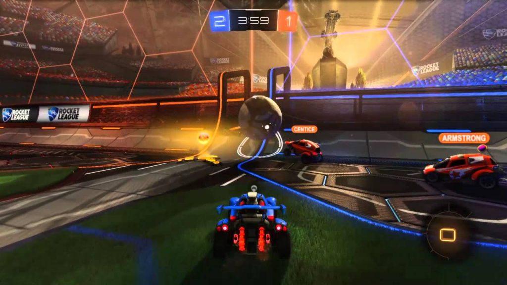Rocket League gratis gameplay ps4