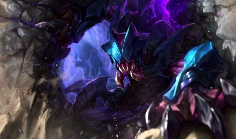 League of Legends Rek'Sai Splash Art