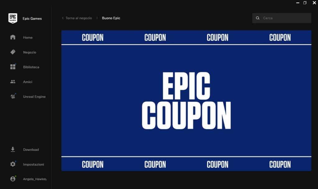 rocket league epic coupon 10 euro
