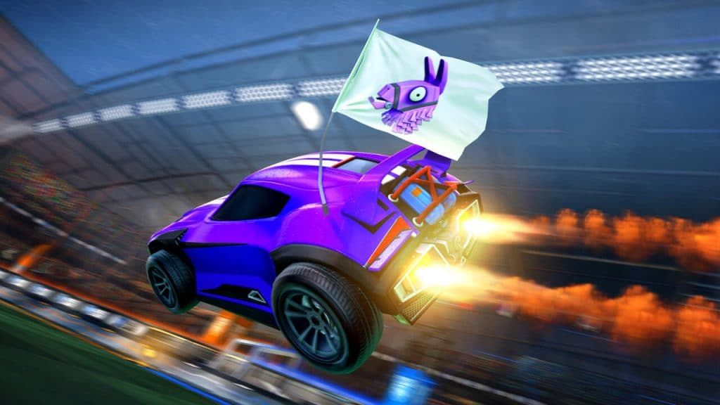 rocket league llama rama fortnite evento free to play