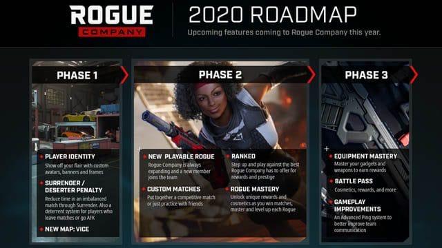 rogue company roadmap