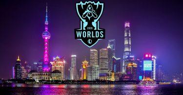 worlds 2020 play-in shanghai logo