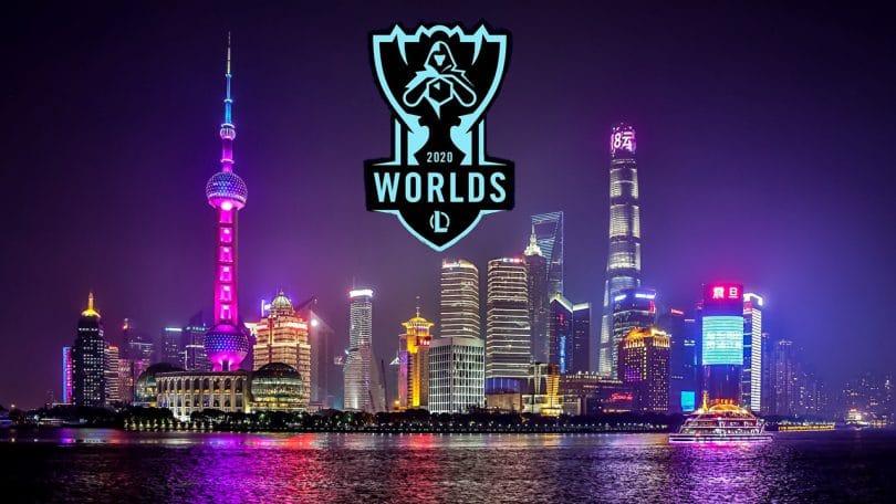 worlds 2021 play-in shanghai logo