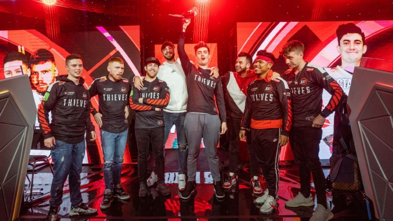 100 thieves call of duty esport