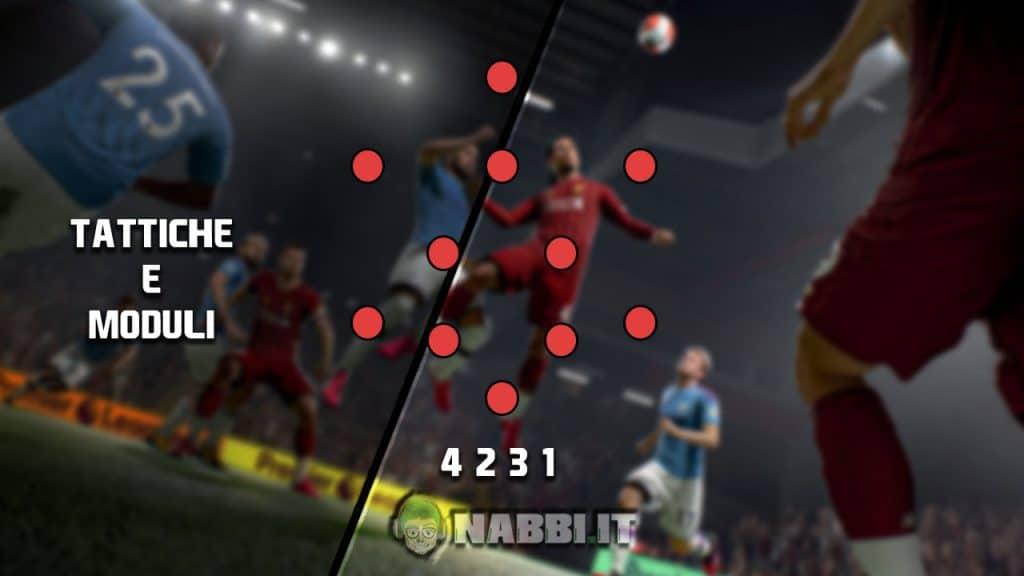FIFA Academy moduli e tattiche guida ultimate team fut