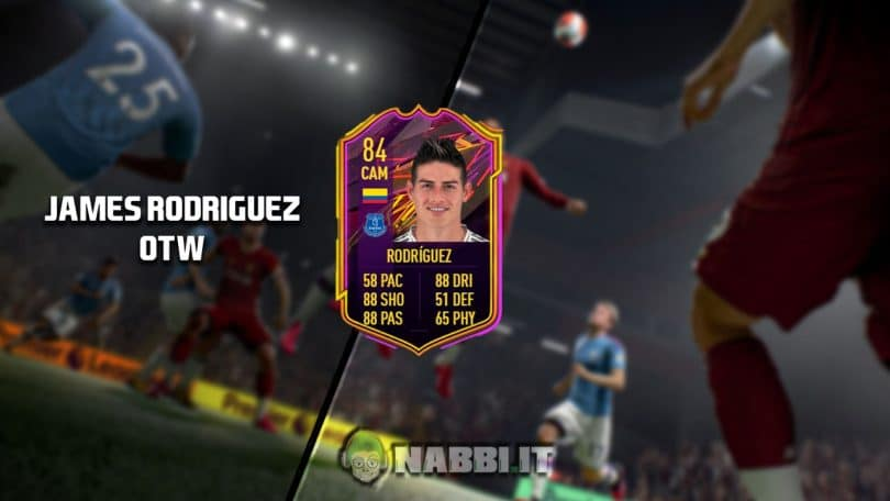 FIFA Academy player review James Rodriguez OTW guida Ultimate team fut