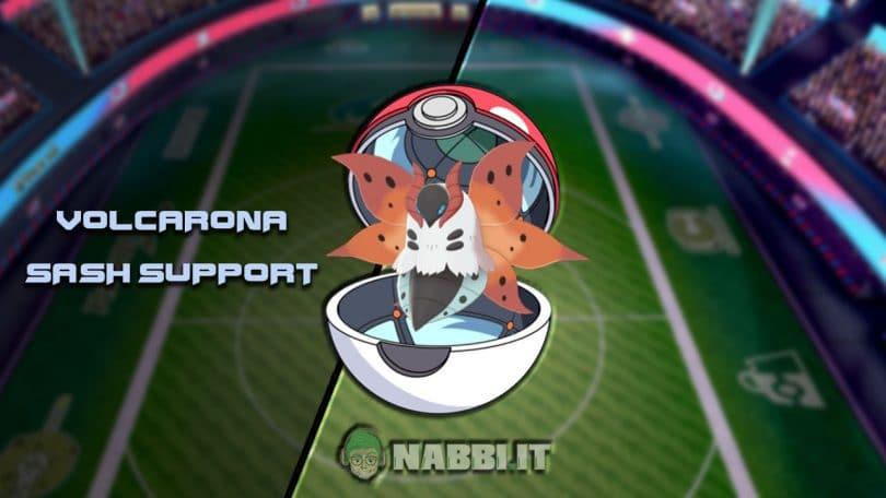 Via Vittoria volcarona sash support Pokemon VGC 2020