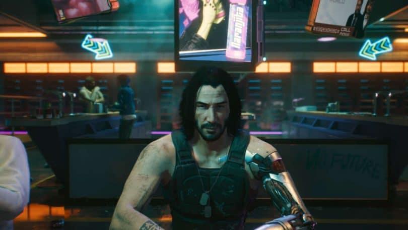 Cyberpunk 2077 autotradurrà voci npc keanu reeves johnny silverhand
