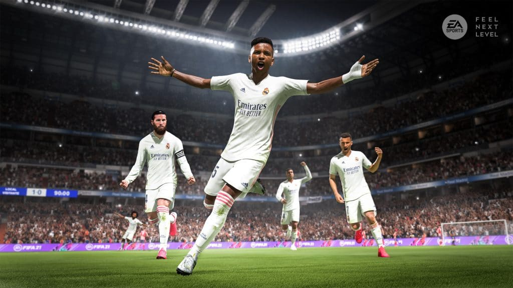 FIFA 21 next-gen feature