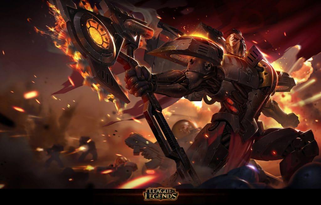 Darius build darius nova del terrore