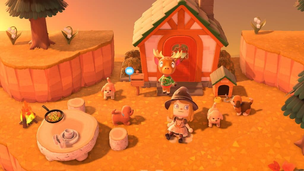 animal crossing new horizons cuccioli cane