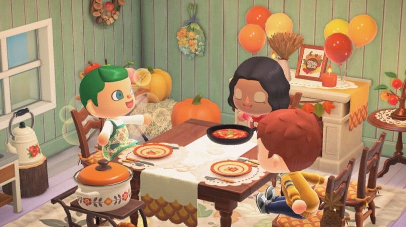 animal crossing new horizons ringraziamento ingredienti cover