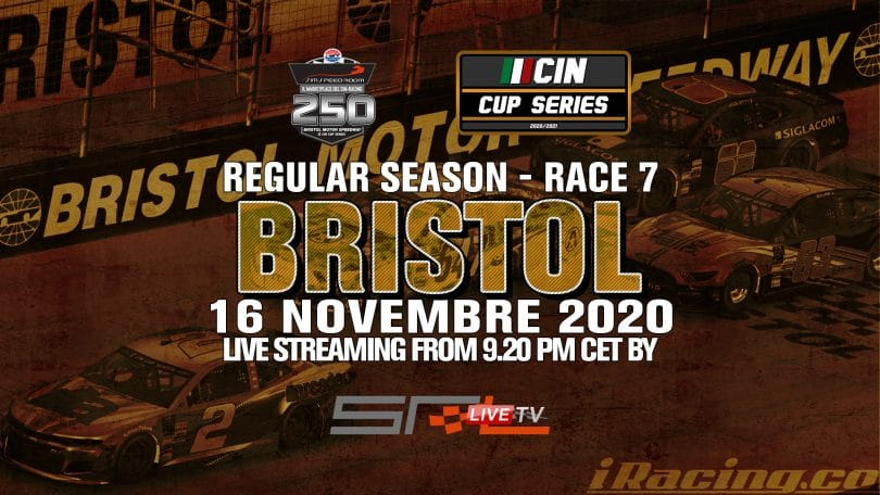 cin campionato italiano nascar bristol motor speedway tennessee