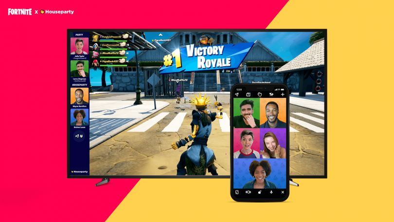 fortnite houseparty voice chat in game 1