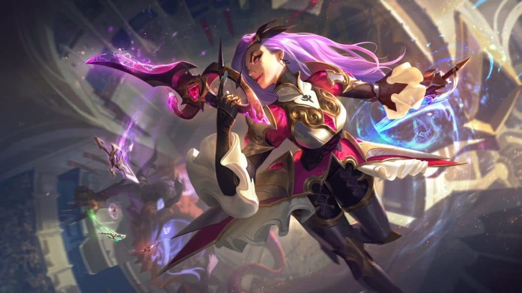 katarina battle queen LoL skin