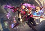 katarina battle queen skin di LoL