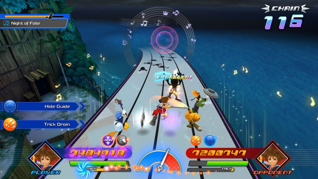 Kingdom Hearts Melody of memory gameplay coop