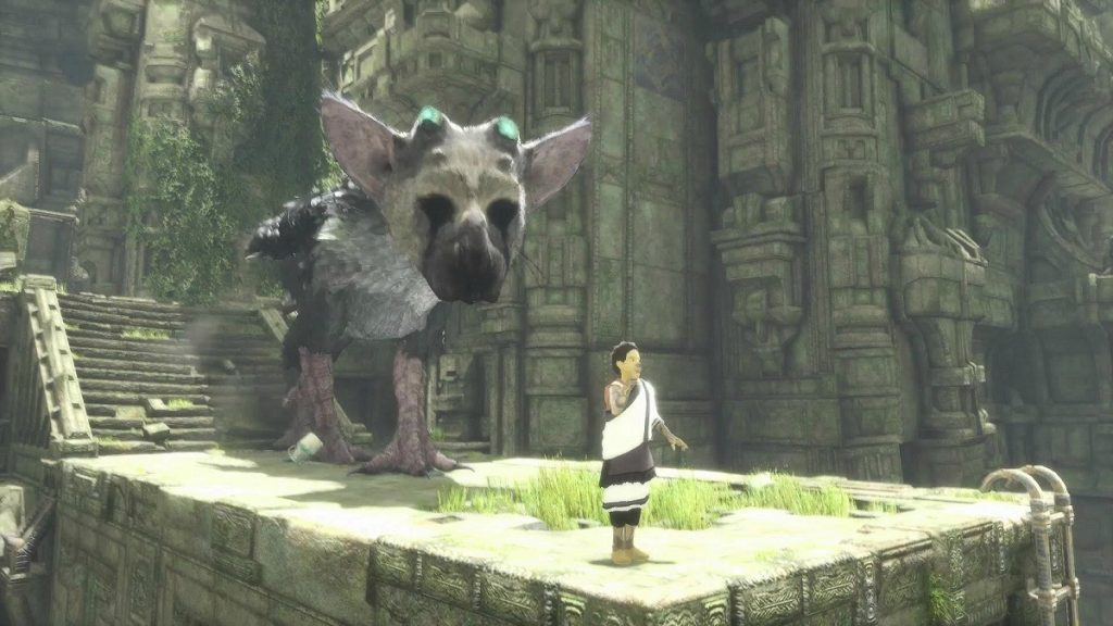 The last guardian gameplay playstation 5 60 fps