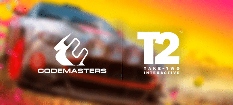 take-two acquisisce codemasters