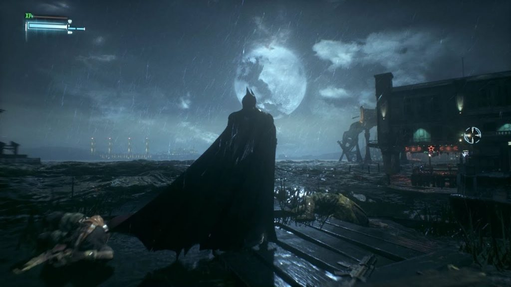 Batman Arkham kinght gameplay screen